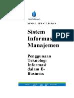 Modul Sistem Informasi Manajemen [TM3]