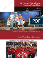 St. Johns Public Schools -  March 2011 - Spotlight