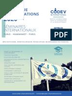 Catalogue Des Formations 2020