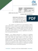 SOLICITUD DE CANCELACION DE MEDIDA CAUTELAR - EXP. 1921-2019