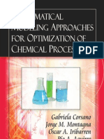 Corsano G. Montagna J.M. Iribarren O.A. Aguirre P.A. Mathematical Modeling Approaches for Optimization of Chemical Processes (Nova Science Publishers 2009)(ISBN 9781604569421)(O)(103s) (2)