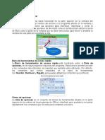 Partes de Microsoft Word