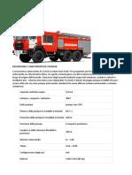 URAL Fire Truck