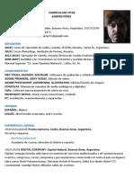 CV Andrés Pérez