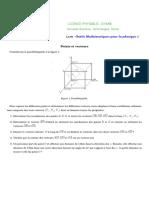 OMP1 Vecteurs Points Vecteurs