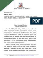 """Sentencia sobre extinción de la""""Acción Penal""""."""