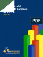Informe de Estadísticas del registro de comercio de Bolivia, abril 2021