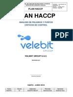 3. Plan Haccp 2018. Versión 01