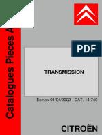 Citroen Transmision