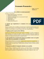La economía panameña