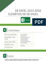 CURSO DE EXCEL 2013-2016