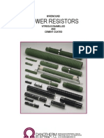 Danotherm Power Resistor