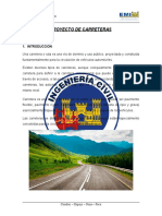 Avance 1 Proyecto Carreteras
