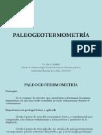 paleogeotermometria