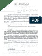 Instrução Normativa Nº 12, De 13 de Abril de 2018 - Imprensa Nacional