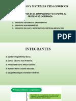 PRINCIPIOS DE LA COMPLEJIDAD Y SU APORTE AL PROCESO DE ENSEÑANZA