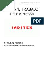 Trabajo de Empresa Inditex Cacl