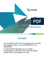 3 - Ev. Tecn Minesight para Evaluación Recursos Minerales en Mine Plan - J. Estaño - Hexagon