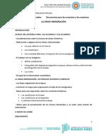 La Gran Inmigración. Documento N° 08 2020 para las maestras y los maestros(2)