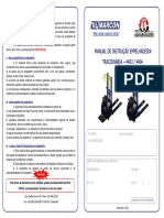 Empilhadeira Patolada Tracionaria 1t4404 4403 Marcon