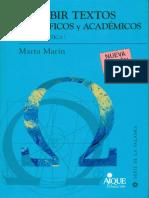Marin - Escribir textos científicos y académicos incompleto
