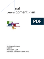 Personal Development Plan Lezo