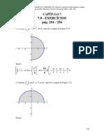 RESOLUÇÃO Calculo B - Diva Flemming - Cap 7 Integrais Duplas PARTE 2 Pag 254-256