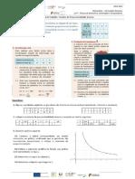 Ficha de Trabalho 1 - Funções Proporcionalidade Inversa