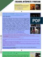 """Busco bailarina + Talleres/Clases + Promoción """"Dale Vida"""" = Newsletter November 2011."""
