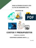 APUNTES Costos y Presupuestos Ago 10