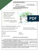 AVALIAÇÃO DIAGNÓSTICA 03