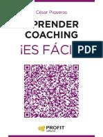 Aprender Coaching ¡Es Fácil! - César Piqueras Gómez de Albacet