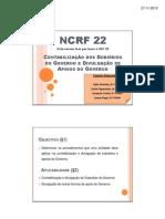 NCRF 22 - Trabalho final com resolução de exercícios
