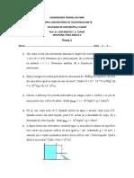 Prova 1 Física II -on line