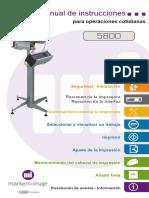 Manual de Instrucciones 5800