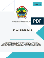 Panduan KTSP SMK Provinsi Jawa Tengah