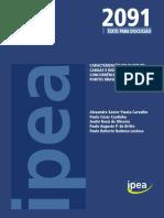 Artigo IPEA Concorrência entre os portos Brasileiros