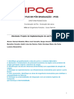 Atividade- Projeto de Implementação de um Porto Fluvial