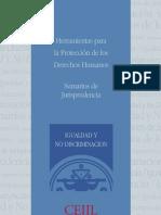 Sumarios Jurisprudencia sobre Igualdad y No Discriminacion