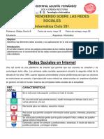 Taller 7- Aprendiendo Sobre Redes Sociales