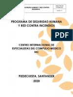 10. Programa de Seguridad Humana y Red Contra Incendios