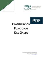 •Clasificación Funcional del Gasto