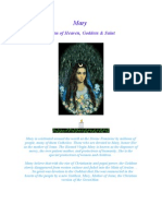 Maryology = Diana Artemis