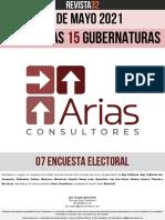 15 Gubernaturas Arias Consultores 07 Encuesta 21.05.2021
