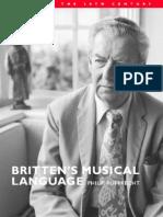 Philip Rupprecht - Britten's Musical Language