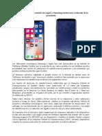 8. Noticia Apple y Samsung (Tecnologia)