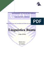Linguas Bantu