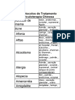 100 Protocolos de Tratamento por Auriculoterapia Chinesa tamanho pequeno