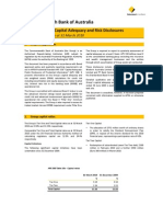 Basel II Pillar 3 Capital Adequacy and Risk Disclosures as at 31 March 2010
