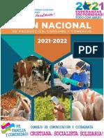 Plan Nacional de Produccion 2021-2022